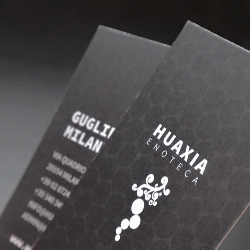 BUSINESS CARD, HUAXIA ENOTECA