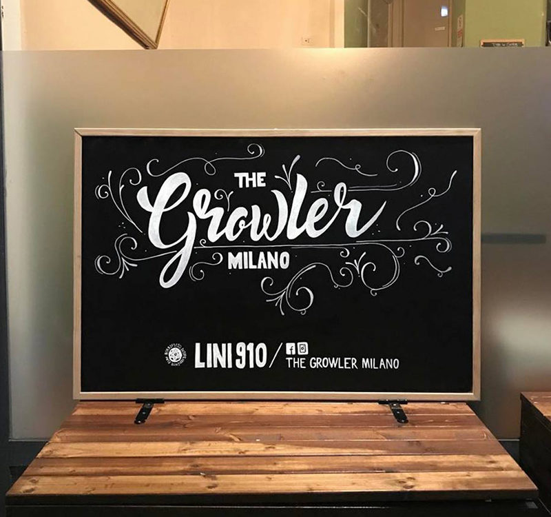 CHALKBOARD, THE GROWLER