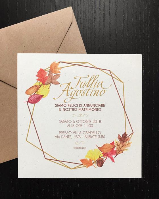 GRAPHIC WEDDING INVITATION