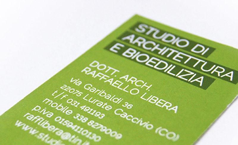BUSINESS CARD, STUDIO LIBERA