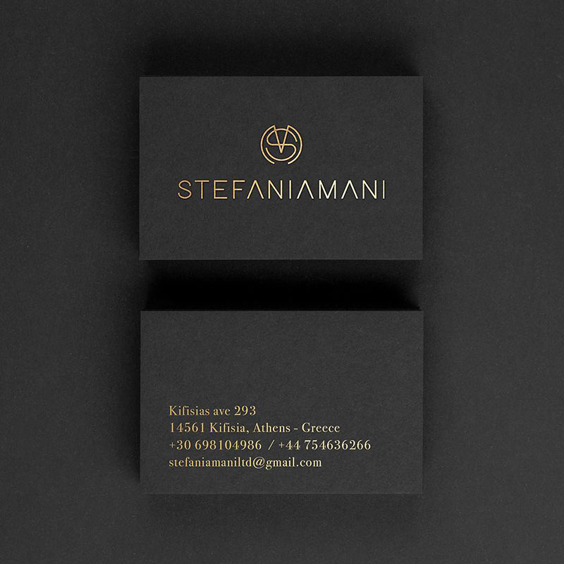 BUSINESS CARD, STEFANIA MANI