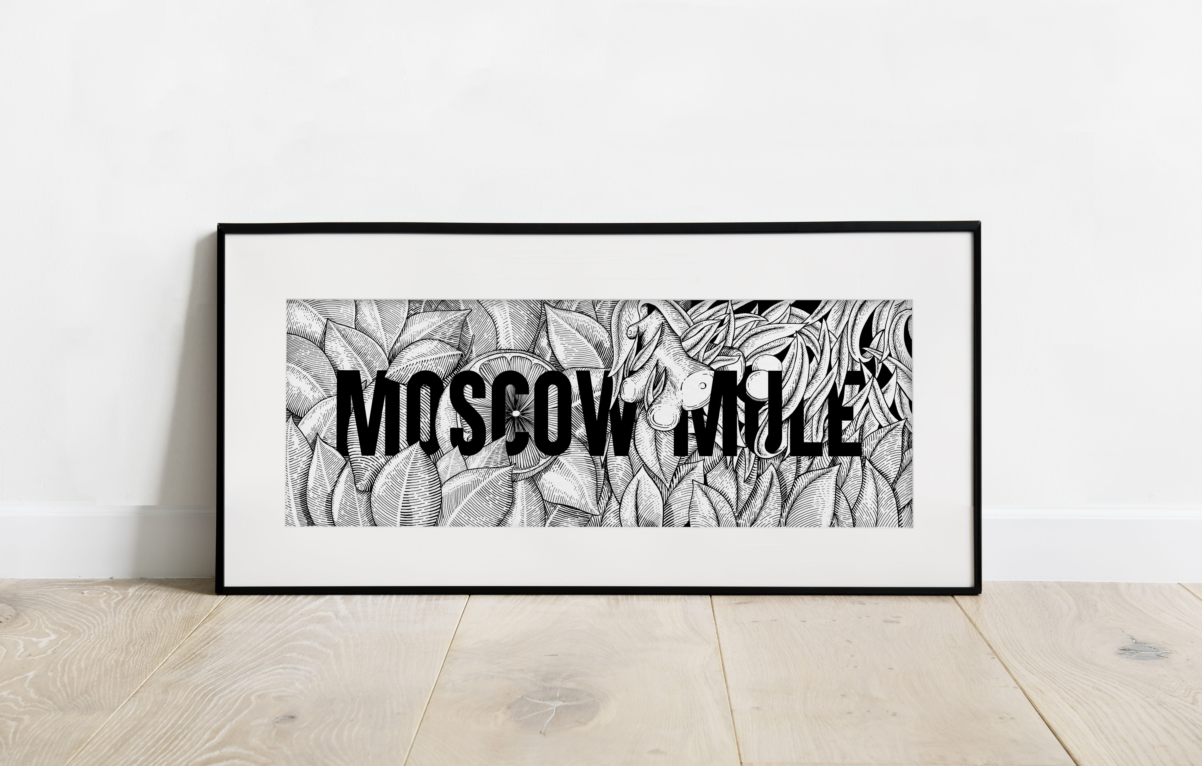 MOSCOW MULE PRINT, 20€