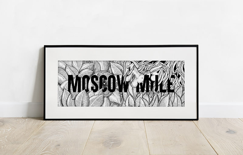 MOSCOW MULE PRINT 20€