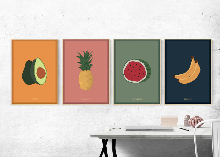 SET FRUITS PRINT