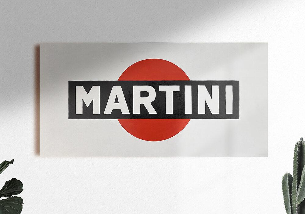 MARTINI WOOD SIGN 300€