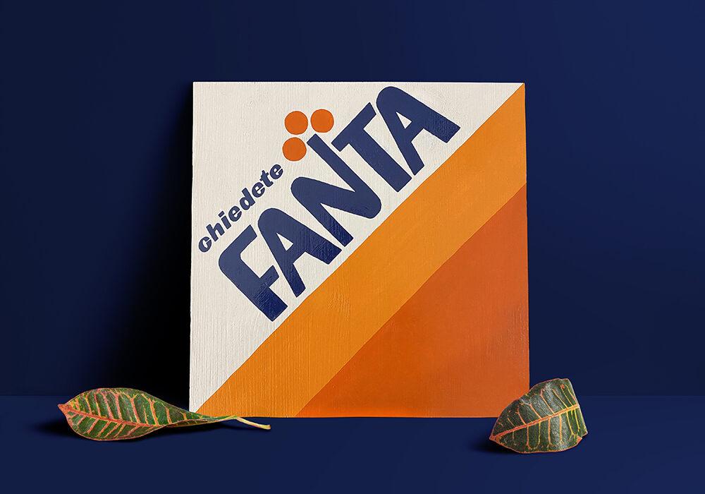 FANTA WOOD SIGN 200€